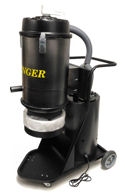 Avenger Self-Cleaning USA Made Dust Extractors, Single Phase.