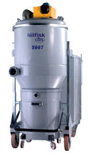 Nilfisk 480 volt 3-Phase Dust Extractors.